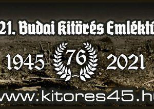 Budai Kitörés Emléktúra 2021 cover