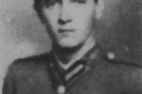 Mallász Egon hadnagy